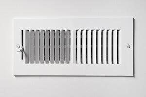 A standard home air vent.